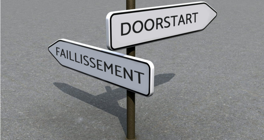 Faillissement of doorstart